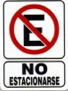 No Estacionarse