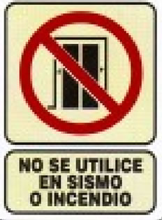 NO use en sismos